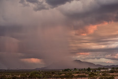 Sunset Storm (inlightful) Tags: sunset sunrise sun clouds sky storm desert monsoon rain virga southwest newmexico