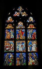 Barbara - Adulphus - Elisabeth (mobilix) Tags: glasfenster prag dom tschechien veitsdom stveitsdom katedrlasvvta buntcolorful einsonce kw29342 smrgsbord
