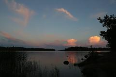 Porkkalan ranta (liisatuulia) Tags: porkkala sky evening calm sea clouds