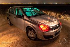 El corazn de la bestia (noctuafoto) Tags: noche nocturna night lightpainting linterna coche car tokina angular