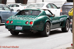 IMG_9511.jpg (Dj Entreat) Tags: california 70200ii canonlens bayarea redring streetphotography car canon6d zoomlens greencar sanfrancisco corvette canon outside unitedstates us