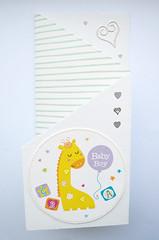 Latest Handmade Cards. (capstick13) Tags: babyboy blue green yellow congrats congratulationstoyouboth