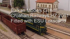 HZ2061v2 (Neil Sutton Photography) Tags: gm emd g g16 hz 2061 esu loksound croatian railways model railway ho