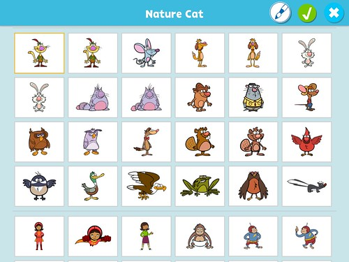 Available PBS Scratch Jr app characters by Wesley Fryer, on Flickr