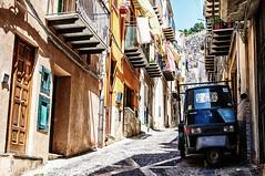 Via G. Amendola (Kevin R Thornton) Tags: d90 nikon travel sicily architecture 2016 italy city cefalu cefal sicilia it