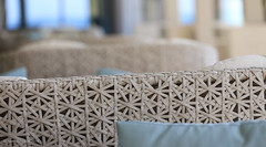Ikos Oceania, Greece (norm.edwards) Tags: ikos oceania hotel terrace furniture stylish geometric blue muted cool