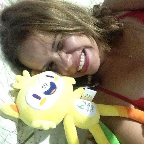 Eu acho que vi um Vinicius! Eu vi sim, eu vi um Vinicius #me #toys #mascote #olympics