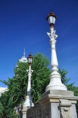 Light The Sky (cmu chem prof) Tags: lansing inghamcounty michigan statecapitol circularpolarizer nationalregisterofhistoricplaces nationalhistoriclandmark lamppost