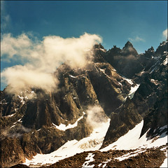 Mont Blanc range 10 (Katarina 2353) Tags: landscape alps mountain france summer katarina2353 katarinastefanovic nikon film