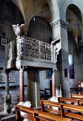Pistoia - San Bartolomeo in Pantano (Martin M. Miles) Tags: pistoia sanbartolomeoinpantano gaiduald lombard longobard pulpit tuscany toscana toskana italy guidodacomo
