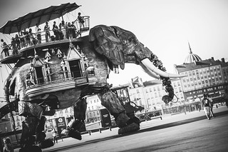 Le voyage sur l'éléphant de Nantes