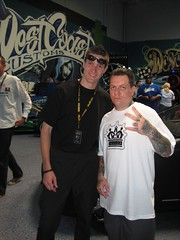 Larry with West Coast Customs Ryan Friedlinghaus