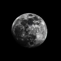 Natural Light Moon 2 (theeqwlzr) Tags: moon amazing nightlights naturallight nightsky wtf southerncalifornia majestic maninthemoon canonrebelxti sandimascalifornia macromondays