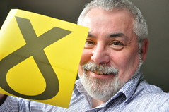 125/365 getting my vote (werewegian) Tags: uk yellow election general symbol vote day125 may15 snp werewegian day125365 365the2015edition 3652015 5may15