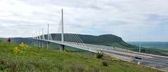 Millau Viaduct (Meino NL) Tags: france frankrijk tarn a75 millau aveyron millauviaduct midipyrnes viaducdemillau cablestayedbridge lamridienne tuibrug viaductvanmillau ponthaubans brugvanmillau creissels