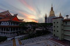 DSC04611_DxO (teckhengwang) Tags: sunrise landscape singapore angle wide ultra a850 sal20f28