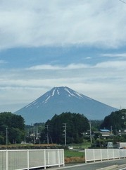 Mt.Fuji  6/4/2015 (Cool-Rock.com) Tags: cloud mountain bluesky   mtfuji  earthquakecloud  earthquakeclouds