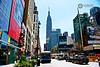 Empire State (luisbajanai) Tags: nyc usa ny newyork bus buildings unitedstates manhattan empirestate nikond3300