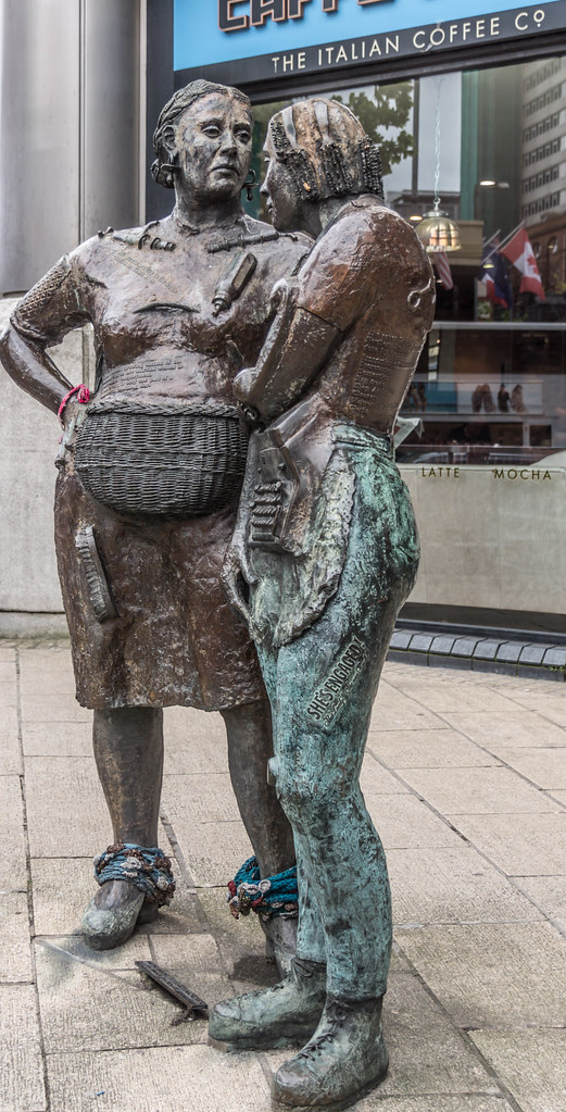 Monument to the Unknown Woman Worker [Cork Artist Louise Walsh] -104932