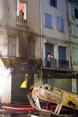 CHOC2 (L'Indpendant) Tags: france perpignan pyreneesorientales meurtre assassinat emeutes ruefoch selectfeu gegout2005