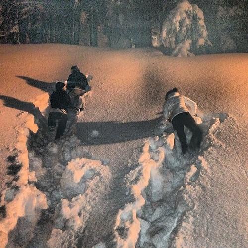 #snowpic #snowslide  #katschberg #landal #snowchaos #snowalert #bestview #picoftheday #instaview #instapic #instagood #instasnow #snowfun