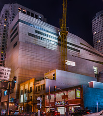 eastern facade of sfmoma's new extension (pbo31) Tags: sanfrancisco california new city panorama color northerncalifornia june museum architecture night dark spring construction nikon contemporary sfmoma large panoramic bayarea soma extension stitched d800 howardstreet 2015 boury goldclub pbo31 financialdistrictsouth