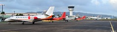 Trafic (Maxime C-M ) Tags: tower tarmac private airport martinique airplanes airbus corsair boeing cessna intl airfrance citation avions brittennorman bn2 a333 tfff b77w executiveairport airawak