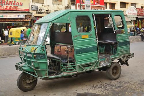India - Uttar Pradesh - Gorakhpur - Auto Rickshaw - 1