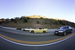 Volvo VS BMW 2 (littlebirdyfly) Tags: auto cars volvo euro social automotive turbo longbeach bmw static m3 motorsports sleeper slammed stance dapper s60r rollingshots m66 motorwerks wekfest yellowm3 loweredcars loweredlifestyle teamobscene dasvolvo