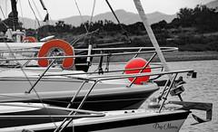 boue  et ballon (png nexus) Tags: bw montagne nb desaturation bateau