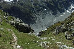 glacier de Zinal, enfin ce qu'il en reste... (bulbocode909) Tags: nature suisse vert glaciers moraine rochers valais montagnes zinal sentiers