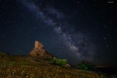 20160715_MG_5269-Castillo de Zafra. (vipuchol) Tags: paisaje via estrellas nocturna castillo zafra lctea