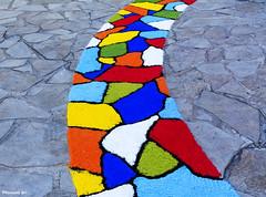 Catifa de sal - L'Escala (rossendgricasas) Tags: color street urban sal alfombra catifa catalonia girona costabrava lescala urbanexploration