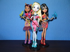 Welcome to Monster High (JoackoTiz) Tags: blue monster de high wolf nile welcome cleo lagoona clawdeen