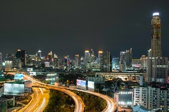 DSC_3842 (Ignacio Blanco) Tags: thailand bangkok metropolis oriental orientalcity future night lighttrails longexposure infrastructure highway cityscape skyscrapers skyline vantagepoint ratchapraroptowermansion