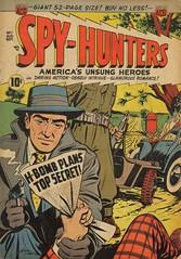 Spy Hunters 7 (Michael Vance1) Tags: art adventure anthology artist comics comicbooks cartoonist war spy silverage