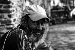 J'attends.... (vedebe) Tags: street city portrait bw monochrome portraits noiretblanc nb rue ville urbain netb