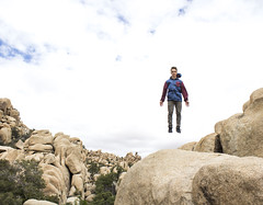 Lift off copy (dominate15) Tags: findyourpark nationalparks explore travel outdoors hiking outside climb joshuatree jump jumping jtree