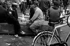 _DSC0339 (Parrasgo) Tags: bridge red dog feet hat amsterdam bike metal cheese umbrella river puente chess movimiento painter sunflower chanel paraguas bycicle violoncello