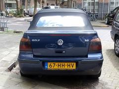Volkswagen Golf 4 cabrio 2001 nr2019 (a.k.a. Ardy) Tags: softtop 67hhhv