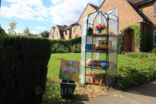 Shopkins at the Heather Scarecrow Festival 2016