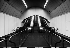 Subway (The_BigBadWolf) Tags: canon m3 efm 1122 subway underground blackandwhite monochrome street streetphotography budapest hungary