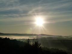 (IgorCamacho) Tags: winter sky sun sol nature paran fog brasil clouds sunrise landscape view natureza foggy paisagem cu southern cielo nubes nuvens vista neblina inverno amanhecer nevoeiro