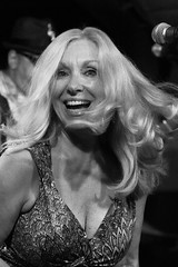 50073-3 Duchess of the Blues (POV Heartland) Tags: bw musician music minnesota live blues singer fridley crooners bluessinger croonerslounge deemiller fe90mmf28g sonya6300 deemillerbluesband duchessoftheblues