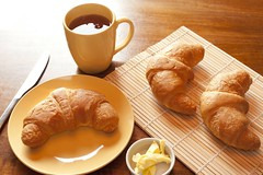 Continental breakfast (freeimagesuk) Tags: breakfast baked butter coffee continental croissants fresh espresso filter food morning drink mug tea beverage