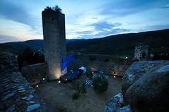 Serravalle - Fortezza nuova (Marco Forgione) Tags: serravalle pistoiese toscana tuscany castello fortezza castle tramonto ora blu grandangolo lightroom
