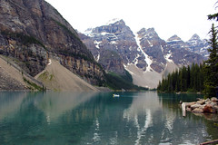 Moraine Lake (ashleyk.wiebe) Tags: banffnationalpark morainelake canada alberta canoe outdoors active