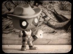 The new Sheriff... (Puffer Photography) Tags: deadpool movies funko actionfigures funkofantasy toys studio stilllife comicbooks 2016 pop minifigs marvel blackandwhite