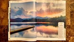 my lake santeetlah photo published in Our state magazine August 2016 Issue (AgFineArtPhotography.com) Tags: our lake magazine this spread is photo nc published state pages august page western carolina issue santeetlah 2016