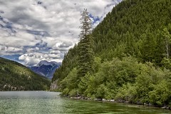 Whiteswan Lake BC is a grand place (John Andersen (JPAndersen images)) Tags: camping trees mountains green nature forest bc boating verdant wilderness pristine whiteswanlake roastmarshmallows